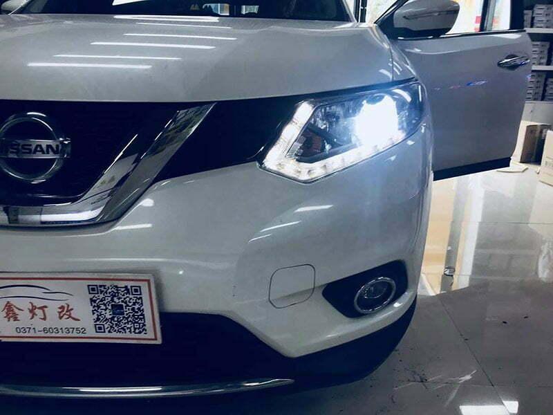 Nissan QASHQAI Retrofit Aozoom E55-R Bi-Xenon Projector