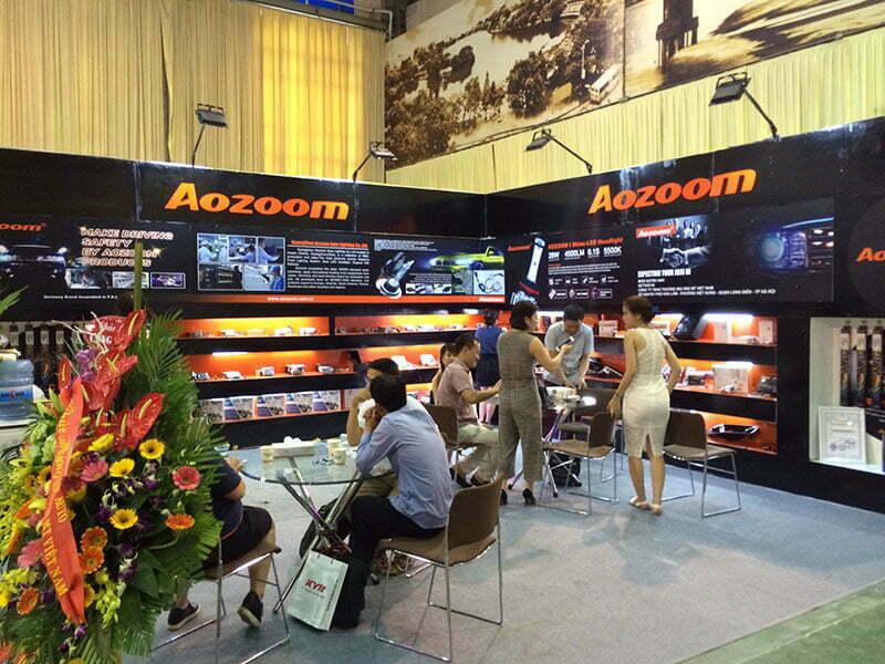 AOZOOM Attend Vietnam AutoExpo Hanoi 2018