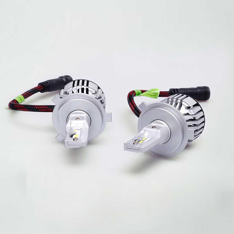 6000K High Power H4 LED Car Headlight Bulbs Manufacturer in China