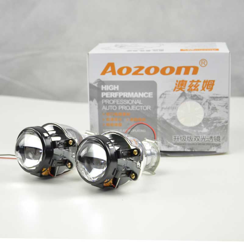 Aozoom H1 Mini 1.8-Inch Easy Installing Bi Xenon Projector Lens
