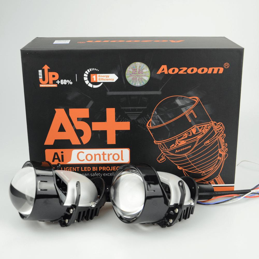 Aozoom A5+ 2.5-Inch Bi-Led Projector Headlight Lens | 35 Watt 3600 Lumens
