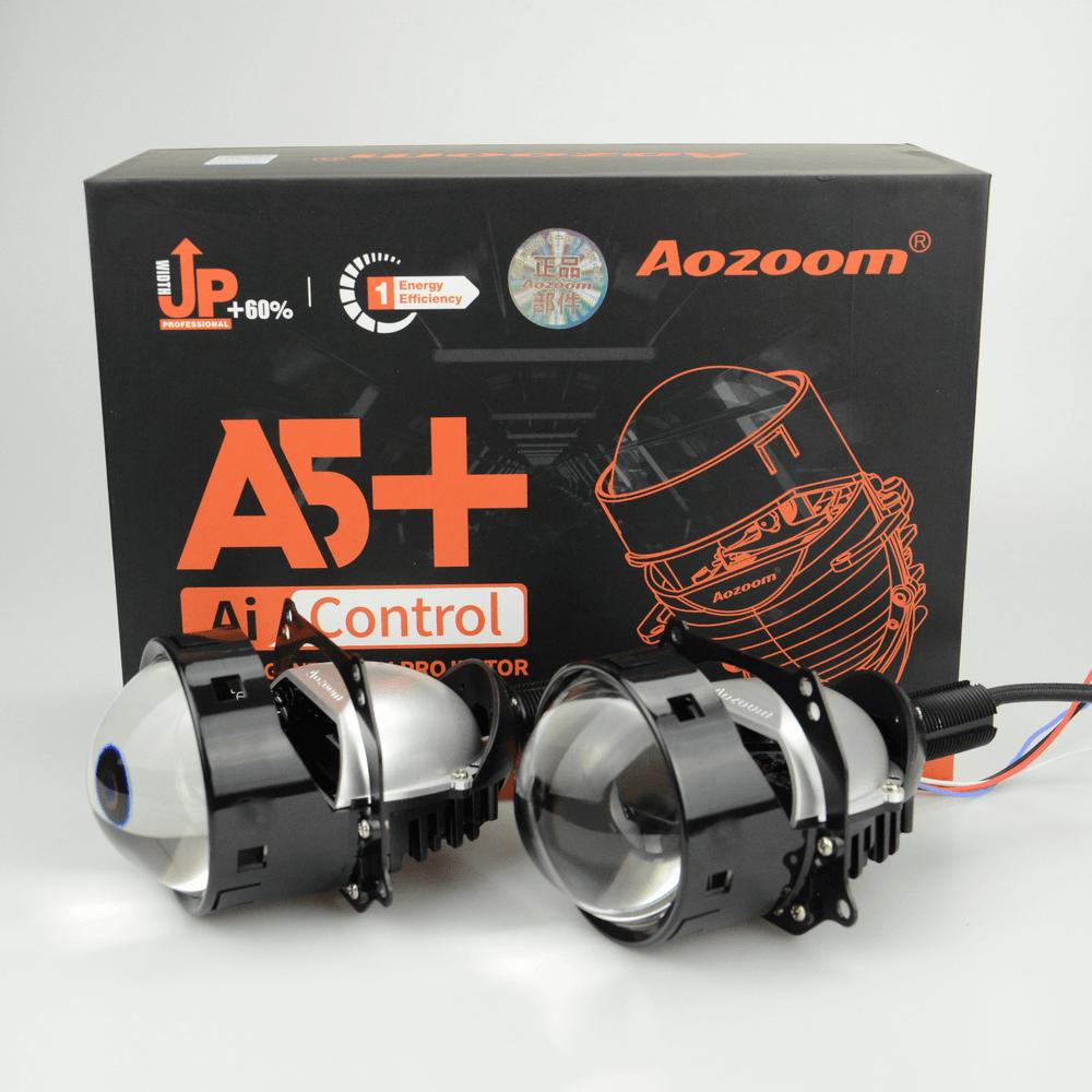 Aozoom A5+ 3-Inch Bi-Led Projector Headlight Lens | 35 Watt 3600 Lumens
