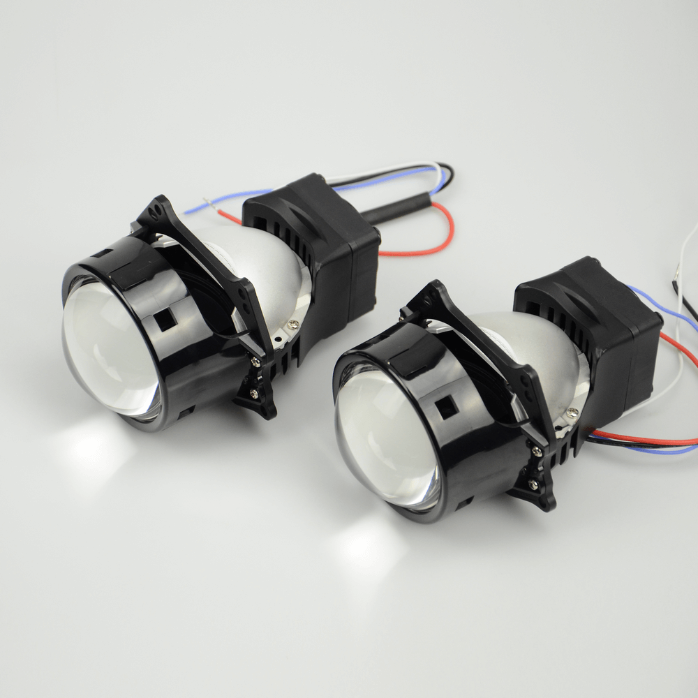 Aozoom Dragon Knight 3-Inch Bi-Led Projector Headlight Lens | 40 Watt 4800 Lumens