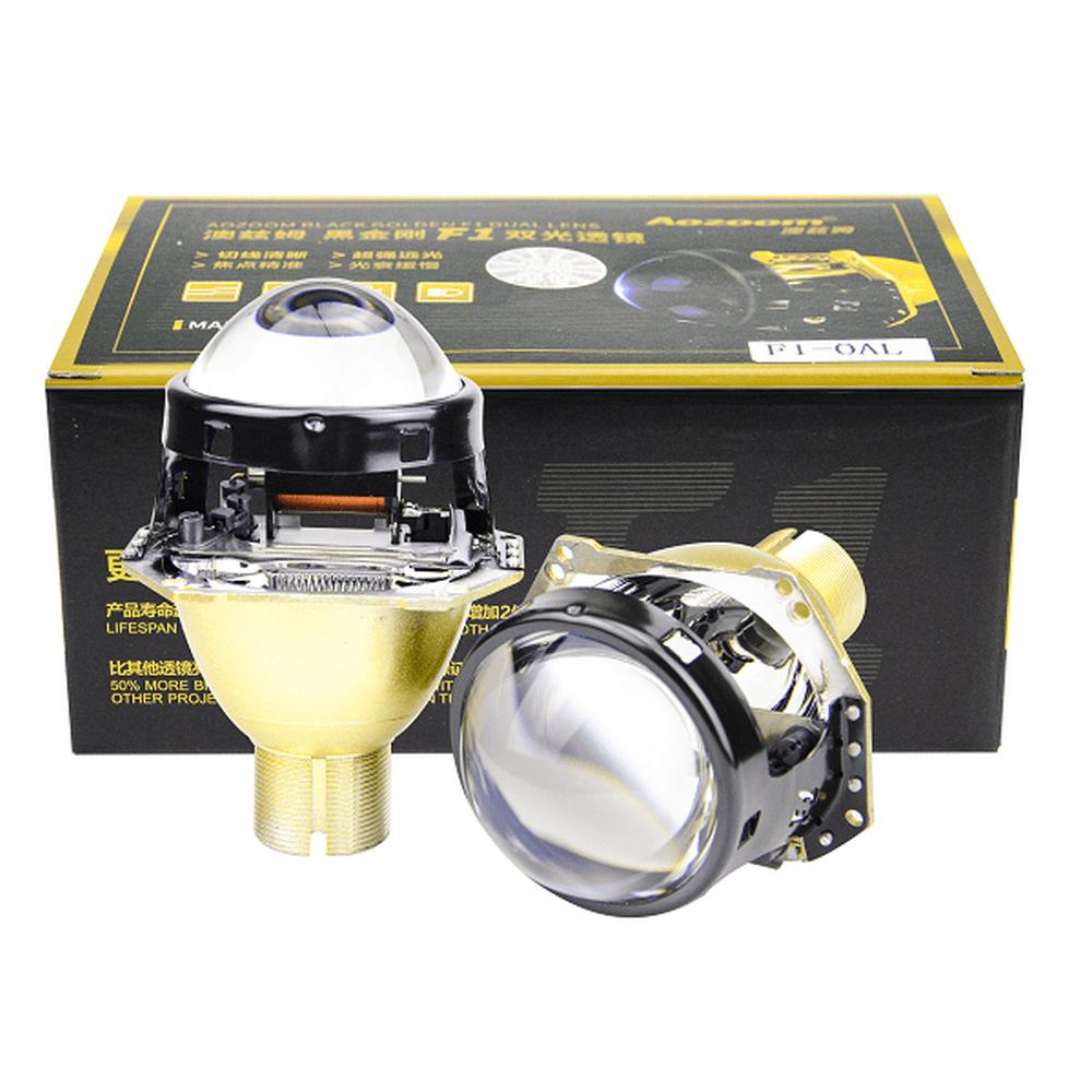 Aozoom F1 Blue Hella5 3-Inch Bifocal Lossy Bi-Xenon Projector Lens